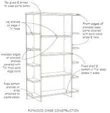 standard shelf depth. Modren Depth Bookshelf Depth Standard Dimensions T Drawing Throughout  Height Plan 8 And   With Standard Shelf Depth A