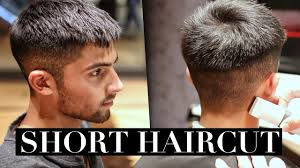 Mens Haircut Short Hairstyle Trend 2017 Youtube