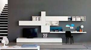 home office units. Modern Tv Stand With Desk Wall Unit Small Home Office Ideas Units