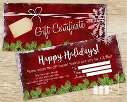 Holiday Gift Certificates Lularoe Happy Holidays Gift Certificate Lularoe Gift Card