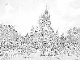 On this page presented 34+ disney world castle silhouette photos and images free for download and editing. Disney World Coloring Pages Beautiful Coloring Frozen Castle Awesome Disney Princess Coloring Castle Coloring Page Disney Coloring Pages Disney Castle Drawing
