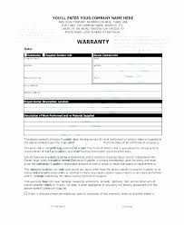 warranty template word microsoft word warranty deed template luxury free workmanship