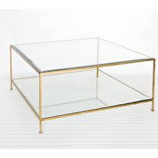 coffee table astonishing brass and glass coffee table ebay