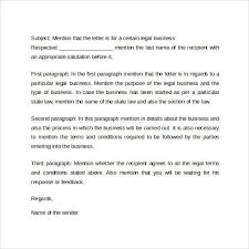 Formal Business Letter Format Example Theveliger
