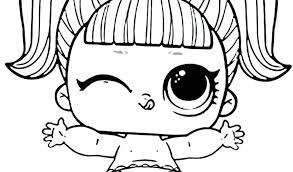 Unicorn Lol Surprise Doll Coloring Page Lotta Lol 7 Modern Home