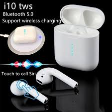 I-10 Pro <b>Wireless Bluetooth</b> 5.0 Earbuds <b>Touch Control</b> Headphones ...