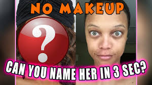 can you name the celebrity without makeup in 3 seconds