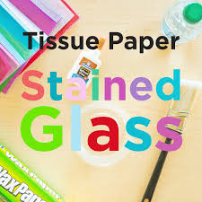 tissue paper stained glass pin this celebrate spring and let the sun shine in with this colorful craft that s the perfect mother s day project