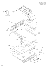 Kitchenaid range parts model kgst307hbs6 sears partsdirect