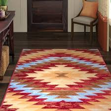 southwestern area rug rugs 8x10
