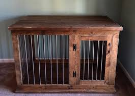 furniture pet crate. Custom Dog Kennel Furniture Crate Hinged Intended For Wooden Pet G