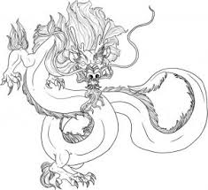 Literarywondrous Mythical Dragon Coloring Pages Monster Dragons Page