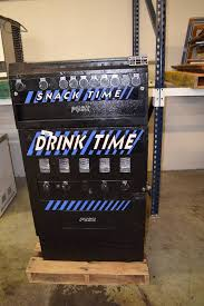 Drink Time Vending Machine Best Drink TimeSnack Time Vending Machine Capital Equipment Surplus