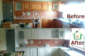 spray painting kitchen cabinets before and after painting spray painting kitchen cabinets cost uk