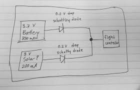 batteries wiring battery and solar panel to drone to extend Solar Panel Circuit Diagram Schematic schematic enter image description here solar panel circuit diagram schematic pdf