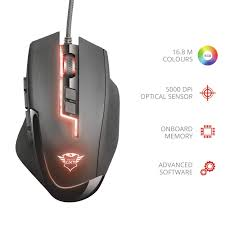 <b>Trust</b> Gaming <b>GXT 164 Sikanda</b> MMO Gaming Mouse for PC and ...