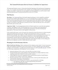 Employee Performance Assessment Examples Employee Review Process Template Example Self Job