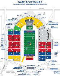 Illinois Seating Chart Football Football Fan Guide Kansas Jayhawks