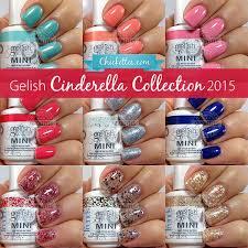 Gelish Cinderella Collection Swatches Color Comparisons