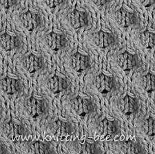 Knit Stitch Patterns Interesting Honeycomb Knitting Stitch Pattern ⋆ Knitting Bee