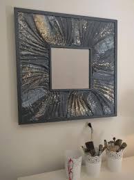 Spiegel Wand Rahmen Holz Rahmen Spiegel Wandspiegel Kunst Etsy