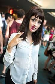 image result for mia wallace outfits