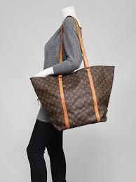 louis vuitton monogram zip tote. louis vuitton monogram canvas sac shopping gm tote bag zip