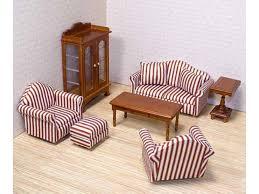dolls furniture set. Classic Dolls House Living Room Set Furniture O