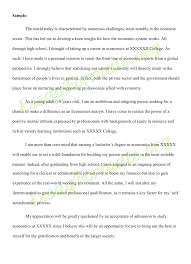 Essay For College Application On Example with Essay For College ...