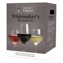 master vintner winemaker s reserve sauvignon blanc wine kit