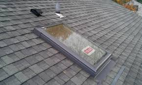replace skylights with roof