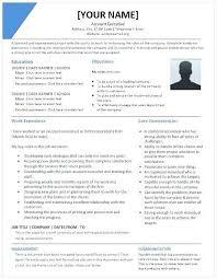 Free Executive Resume Templates Nfcnbarroom Com