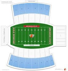 Razorback Football Stadium Seating Chart Asu Jonesboro Football Stadium Seating Chart Best Picture