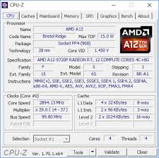 Amd A12 9720p Soc Benchmarks And Specs Notebookcheck Net