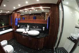 Cabin Bathroom Luxury Yacht Charter Barracuda Red Sea Master Cabin Bathroom View