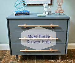 Furniture pulls Pendant Diy How To Make Drawer Pulls Toolbox Divas How To Make Drawer Pulls
