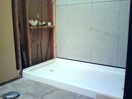 kohler bellwether shower pan base pertaining to bases easy design from the ground up ideas in