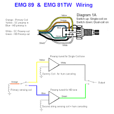 emg 89 wiring diagram and schematic design