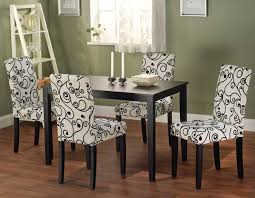 awesome patterned dining room chairs libra modern fabric for cloth decor 4
