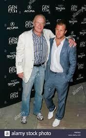 Scott Caan mit seinem Vater James Caan ...