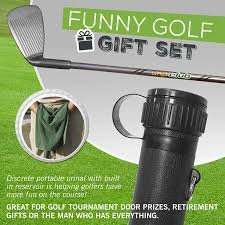 amazon uroclub portable urinal funny gift for men guaranteed to keep you out of the woods golf novelty gifts sports outdoors