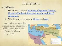 Hellenistic Culture And Roman Culture Venn Diagram Answers Alexander The Great Hellenistic Culture Ppt Download