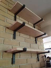 black iron shelf bracket iron