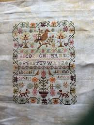 The Pink Sparrow My First Antique Reproduction Chart By