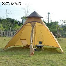 outdoor camping. Exellent Outdoor 350300200 Cm 35 Persoon Outdoor Camping Teepee Tent Dubbellaags Twee With