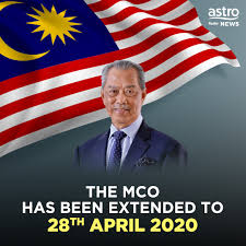 Move comes a week after his appointment. Astro Radio News On Twitter Breakingnews Prime Minister Tan Sri Muhyiddin Yassin Says The Movement Control Order Will Be Extended Again From April 15th Until April 28th Https T Co Swvgfj95go