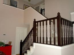 Stair Finishes Pictures Remodelaholic Diy Stair Banister Makeover Using Gel Stain