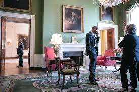 White house floor1 green roomjpg Wikimedia Commons Click Here For Full Size Atlantic Sentinel Barack Obama Atlantic Sentinel