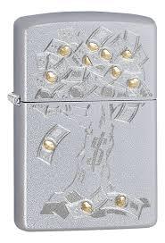 <b>Зажигалка бензиновая Money Tree</b> Design 29999 от Zippo купить ...