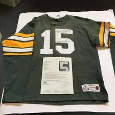 Jersey Jsa Champion Bart Signed - Throwback Coa Starr